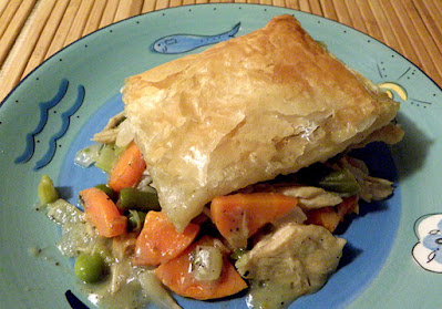 Another Slice of Deep Dish  Turkey Pot Pie