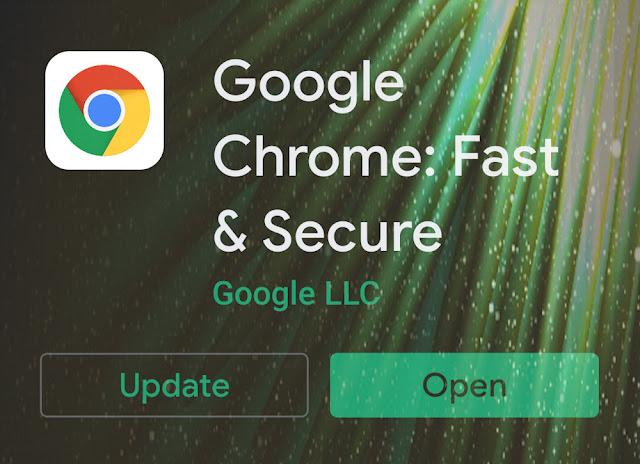 Aw, Snap! Masalah Setelah Aplikasi Chrome Diperbarui
