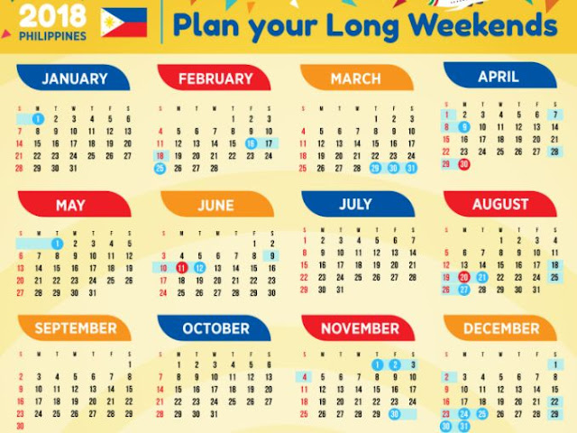 List of Philippines Regular & Special National Holidays