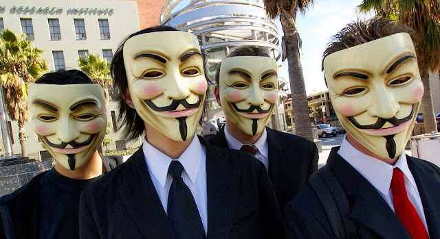 members of Anonymous