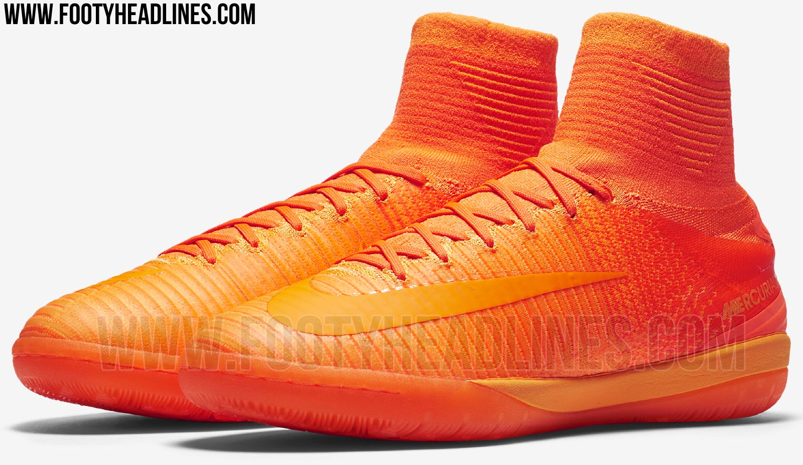 Cheap NIke MercurialX Proximo II All Orange
