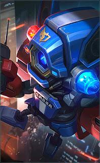 Cyclops SABER Blaster Heroes Mage of Skins V3
