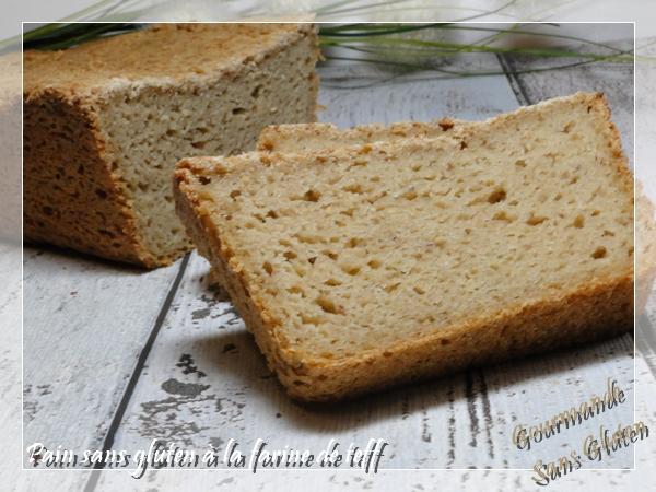 Pain sans gluten à la farine de teff