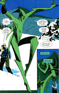 Mark Badger art from Martian Manhunter mini-series (1988). Property of DC comics.