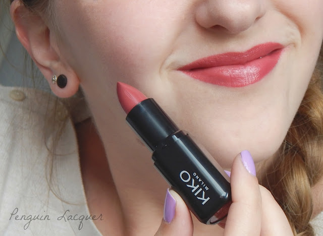 kiko smart fusion lipstick 407 with stick