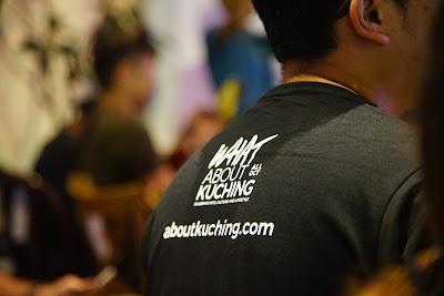 Salah satu kolaborator What About Kuching 2019