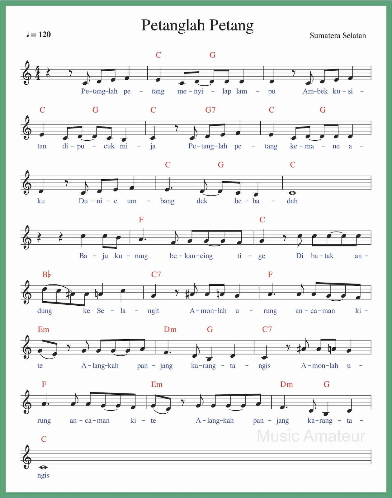 Lagu Daerah Lahat Sumatera Selatan : daerah, lahat, sumatera, selatan, Angka, Petanglah, Petang, SEPUTAR, MUSIK
