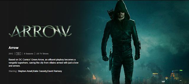Arrow, Arrow Web Series