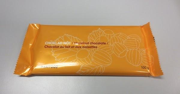Ikea Choklad Not Hazelnut Chocolate Review Invertedkb