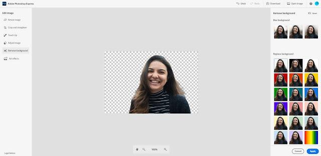 2. Adobe Photoshop Express Online