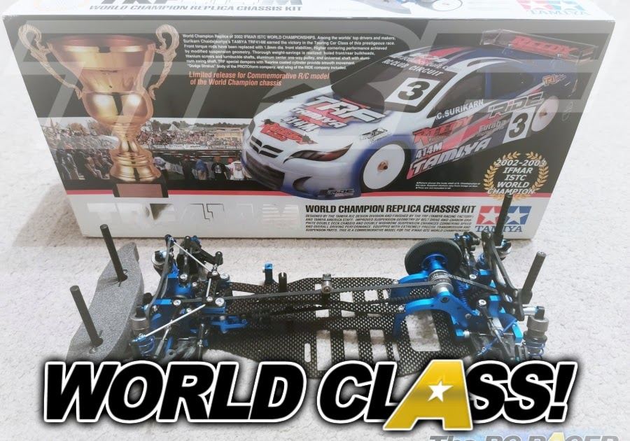 49255 Tamiya TRF414M World championship replica Build and Review Part 1