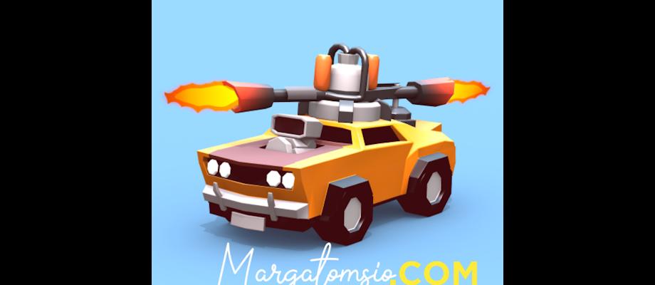Free Download Crash of Cars v1.3.40 Mod Unlimited Coin+Gems