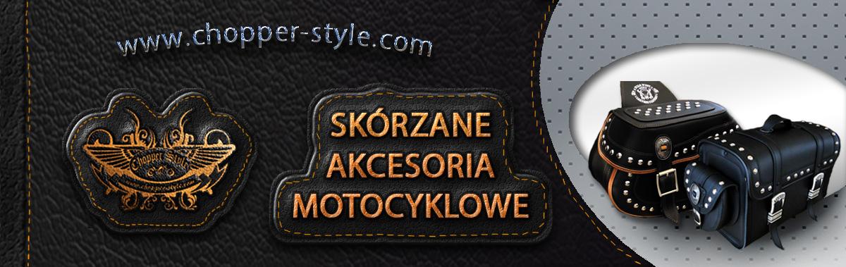 chopper style - skózane akcesoria na motocykl