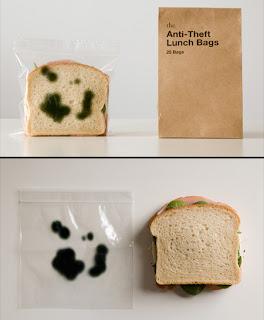 envase y embalaje creativo para sandwich