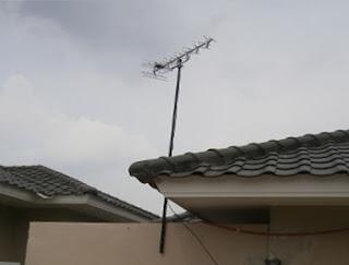 jasa pasang antena tv harapan baru