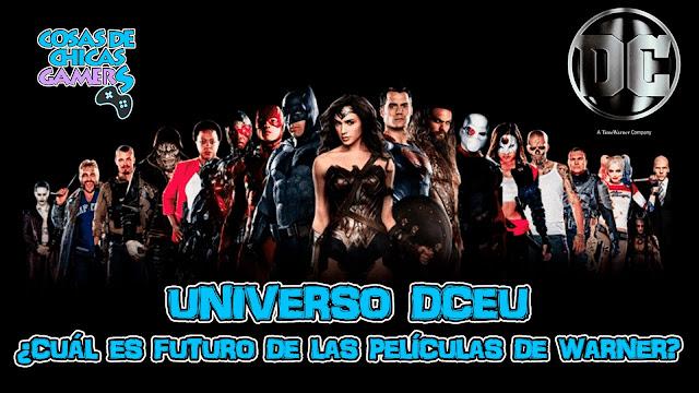 Universo dceu futuro películas warner