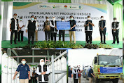 Gubernur Khofifah Tinjau Unit Produksi Oksigen Petrokimia Gresik