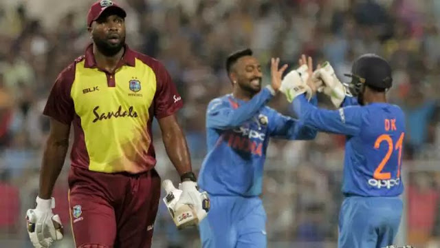 India win 1st T20 by 5 wkts Against West Indies