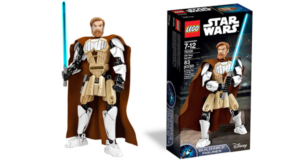 OBI-WAN LEGO BUILDABLE