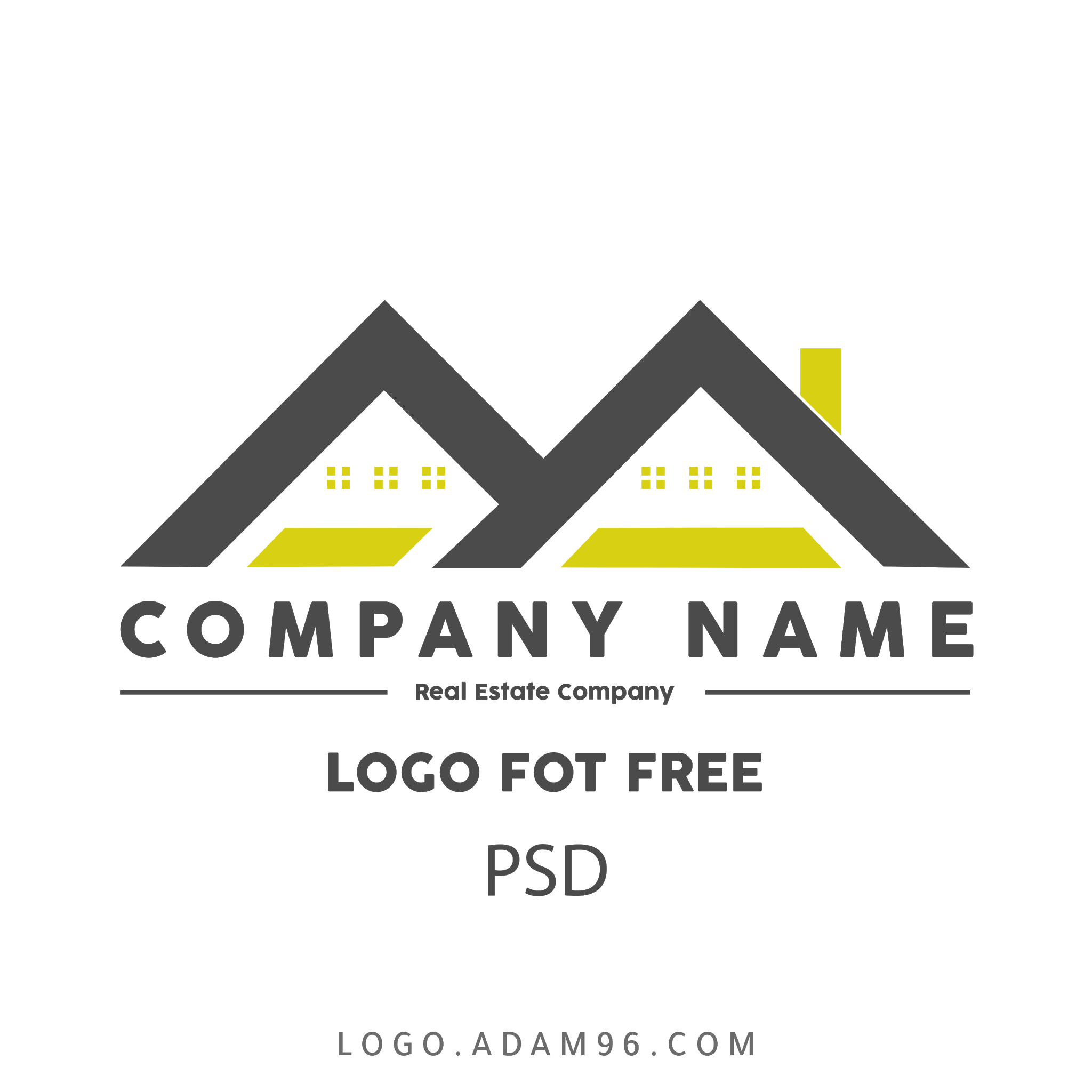 تحميل شعار شركة عقار مجاناً بدون حقوق لوجو حصري بصيغة PSD مفتوح للتعديل