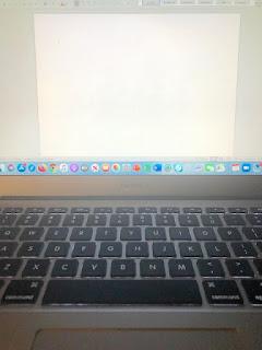 The dreaded blank screen