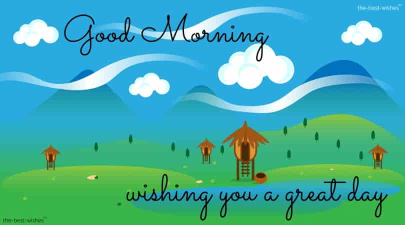 good morning animated nature wallpaper