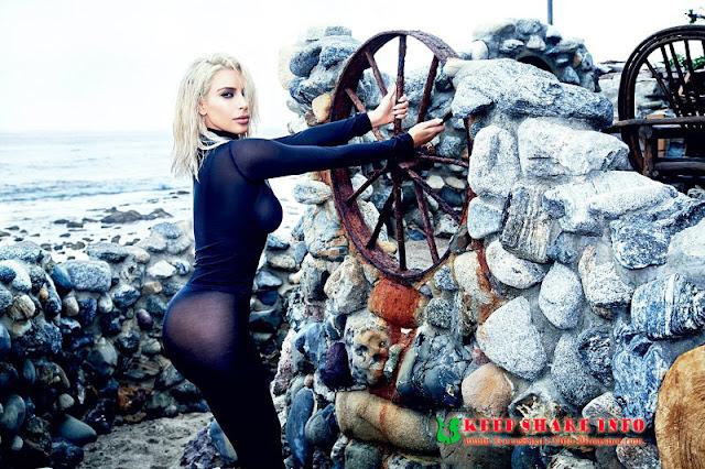 Foto Bugil Kim Kardashian Nekad Bergaya Marilyn Monroe