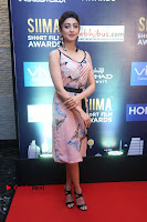 Actress Pranitha Subhash Pos in Short Dress at SIIMA Short Film Awards 2017 .COM 0011.JPG