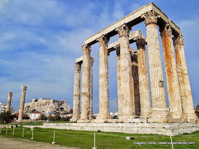 Templo de Zeus no Olympeion  - Atenas