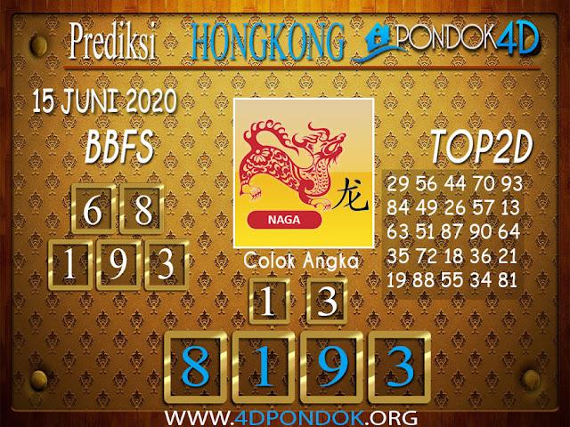 Prediksi Togel HONGKONG PONDOK4D 15 JUNI 2020