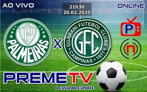 Palmeiras x Guarani Ao Vivo