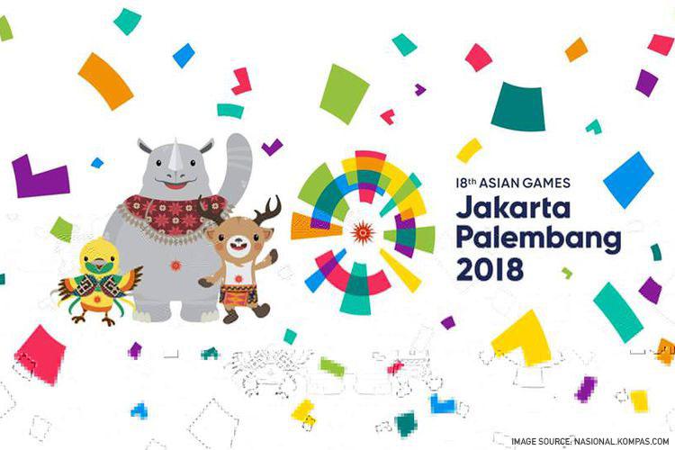 Dukung Bersama Asian Games 2018 dari Kota Bandung