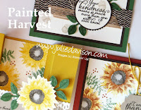 Stampin' Up! Painted Harvest Card Kit ~ September Stamp of the Month Club ~ 2017 Holiday Catalog ~ www.juliedavison.com/clubs