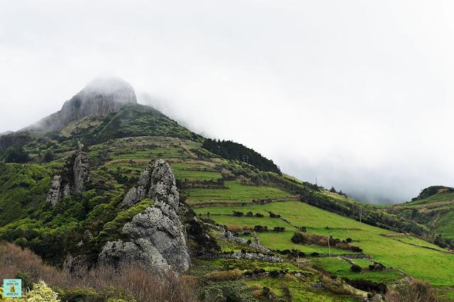 Ruta de Lajedo a Mosteiros, isla de Flores (Azores)