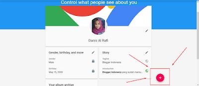cara mengatasi profil yang tidak muncul muncul di blog