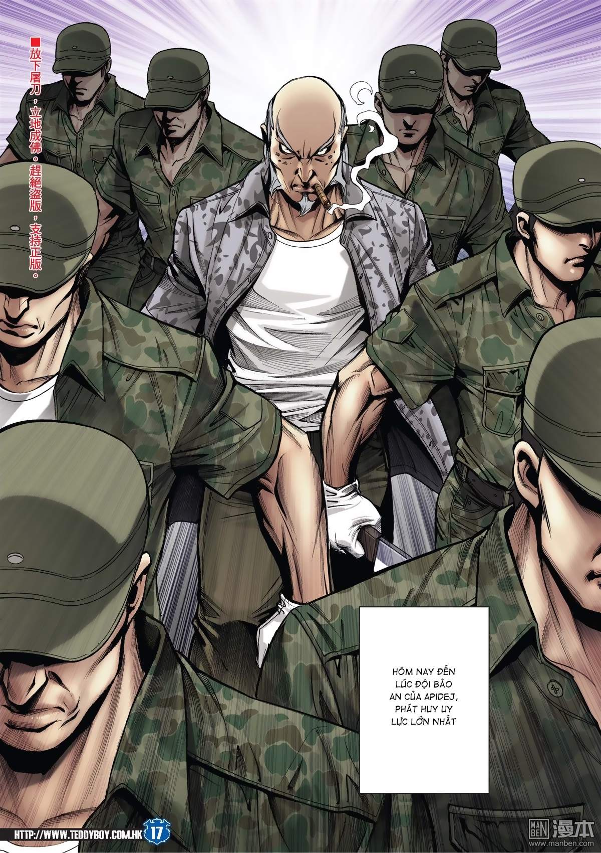 Người Trong Giang Hồ chapter 2026: khí diệm tông sư trang 16