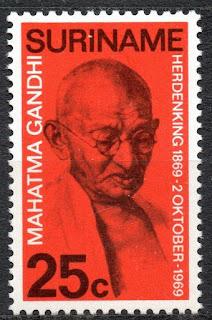 Suriname 1969 Mahatma Gandhi