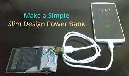 How to make Simple Slim Design Power Bank