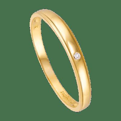 Nhẫn cưới Kim cương Vàng 18K PNJ Chung Đôi