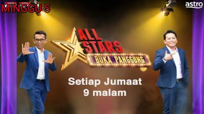 Live Streaming All Stars Buka Panggung Minggu 5