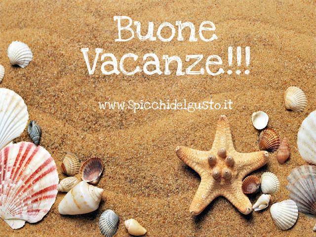 conchiglie e stella marine per augurarvi buone vacanze!!!