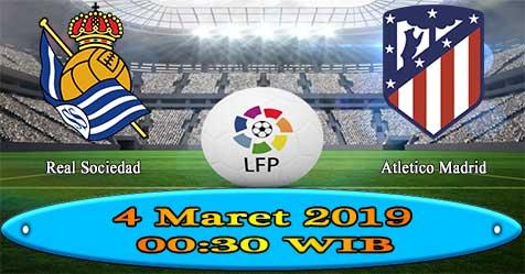 Prediksi Bola855 Real Sociedad vs Atletico Madrid 4 Maret 2019