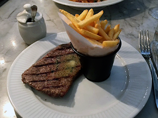 Steak and frites - Côte Edinburgh