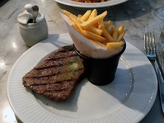 Steak and frites - Côte Edinburgh
