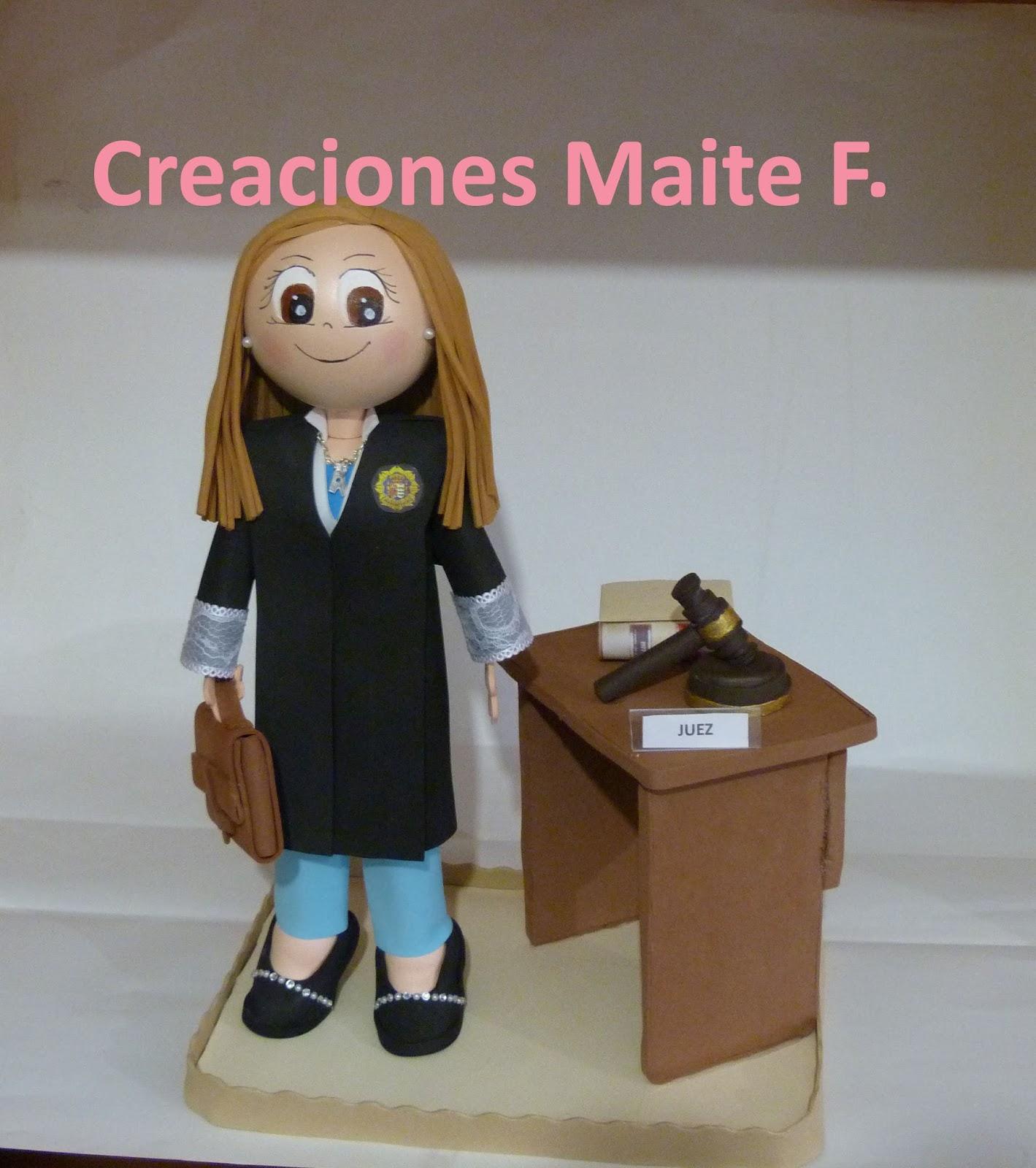 Fofuchas Manualidades Y Creaciones Maite Fofucha Jueza  # Muebles Para Fofuchas
