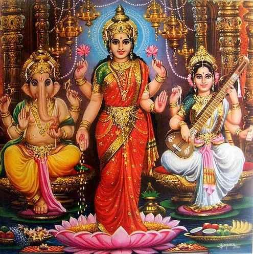 Goddess Lakshmi Wallpaper Picture Images Photo Full Resolution Hd