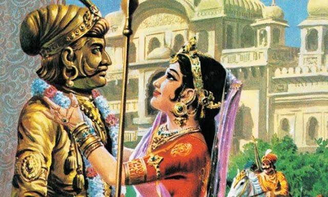 love story of prithviraj chauhan & sanyogita hisar