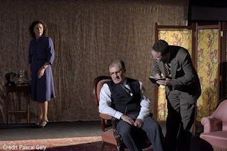 Théâtre : La version Browning de Terence Rattigan - Mise en scène de Patrick Kerbrat - Avec Jean-Pierre Bouvier, Marie Bunel - Théâtre de Poche Montparnasse