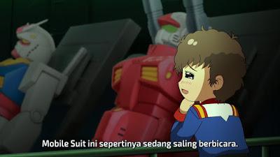 MS Gundam-san Episode 11 Subtitle Indonesia