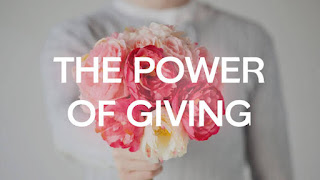 If You Want To Receive, You Have To give First: The Power of Giving